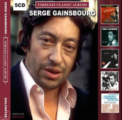 SERGE GAINSBOURG - Timeless Classic Albums 5 CD