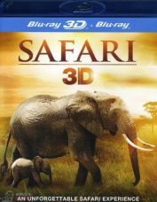 MOVIE - SAFARI 3D Blu-Ray