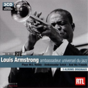 LOUIS ARMSTRONG - LES JAZZ RTL 3CD