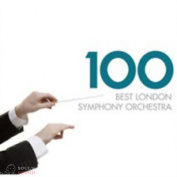 VARIOUS ARTISTS - 100 BEST LONDON SYMPHONY ORCHESTRA 6 CD