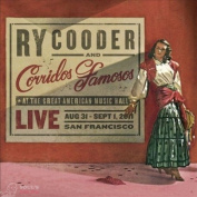 Ry Cooder Corridos Famosos Live Great American Music Hall 2 LP + CD