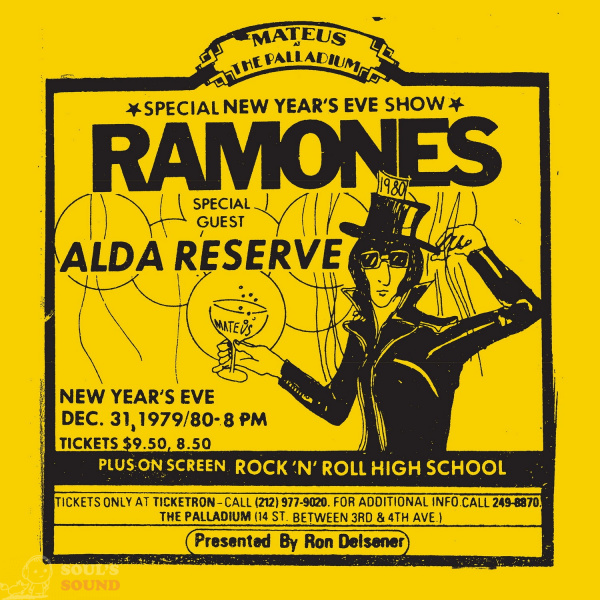Ramones Live At The Palladium, New York, NY (12/31/79) 2 LP RSD2019 Limited Numbered