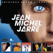 Jean-Michel Jarre Original Album Classics (Les Chants Magnetiques / Zoolook / Rendez-Vous / Revolutions / Waiting for Cousteau) 5 CD