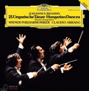 Claudio Abbado Brahms: Hungarian Dances No.1 - 21 LP
