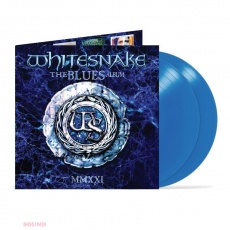 Whitesnake The Blues Album 2 LP Limited Ocean Blue