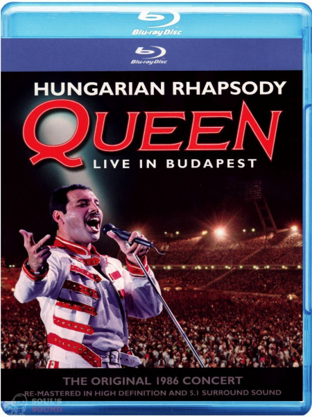 Queen Hungarian Rhapsody Blu-Ray