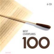 VARIOUS ARTISTS - 100 BEST OVERTURES & PRELUDES 6 CD