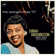 "DINAH WASHINGTON - SWINGIN' MISS ""D"" (WITH QUINCY JONES AND HIS ORCHESTRA) LP"