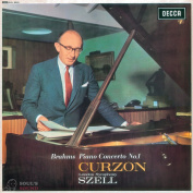 Sir Clifford Curzon, London Symphony Orchestra, George Szell Brahms: Piano Concerto No.1 In D Minor LP
