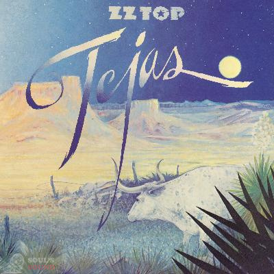 ZZ Top Tejas LP Start Your 'Ear Off Right 2019 Limited Purple Trifold