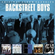 BACKSTREET BOYS - ORIGINAL ALBUM CLASSICS 5 CD