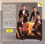 Bartok Emerson String Quartet ‎– 6 String Quartets 2 CD