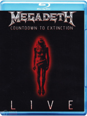Megadeth Countdown To Extinction: Live ( Blu-Ray + CD )
