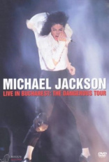 MICHAEL JACKSON - LIVE IN  BUCHAREST - THE DANGEROUS TOUR DVD