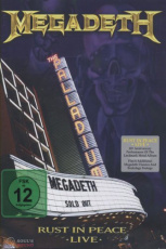 Megadeth Rust In Peace Live 2 DVD
